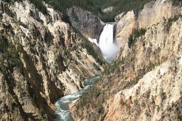 グランド・キャニオン・オブ・ザ・イエローストーン Grand Canyon of the Yellowstone