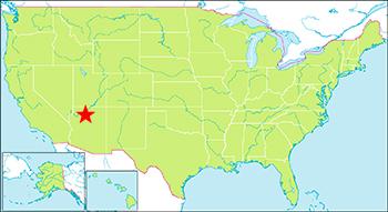グランドキャニオン 地図