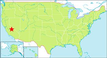 ヨセミテ国立公園 地図