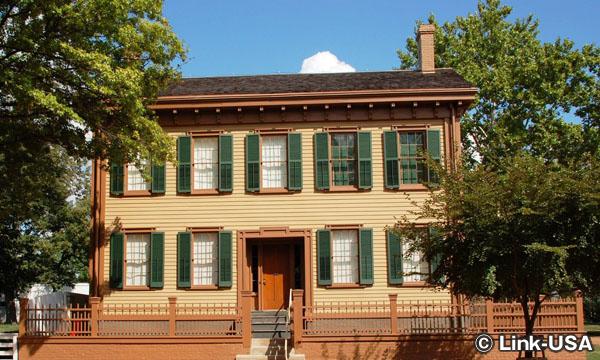 リンカーンの家国立史跡 Lincoln Home National Historic Site