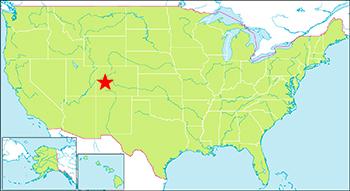 ブラックキャニオン国立公園 地図