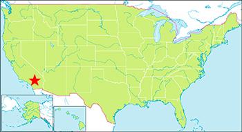ジョシュアツリー国立公園 地図