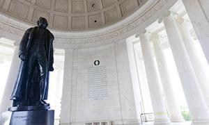 トーマス・ジェファーソン記念堂(Thomas Jefferson Memorial)