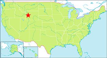 グランドティートン 地図