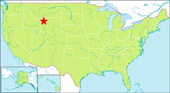 イエローストーン 地図