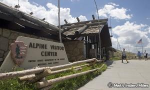 ロッキーマウンテン国立公園 アルパイン ビジターセンター