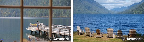 レイク クレセント ロッジ Lake Crescent Lodge