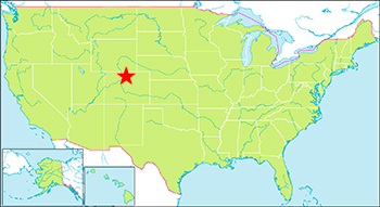ロッキーマウンテン国立公園 地図