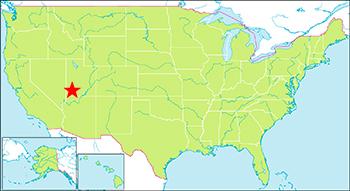 ザイオン国立公園 地図