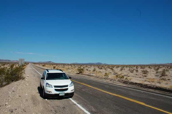 広大なアメリカをドライブ