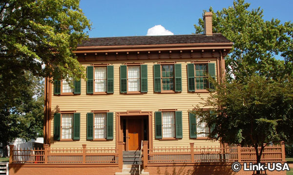 リンカーンの家国立史跡 Lincoln Home National Historic Site