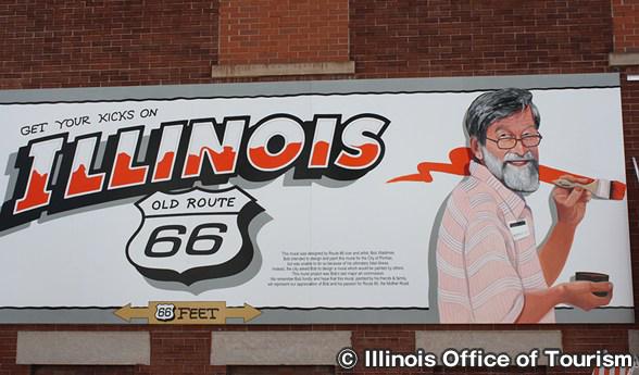 ルート66 ポンティアックの壁画 Route 66 Murals – Pontiac