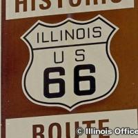 ルート66をドライブ シカゴ~セントルイス間