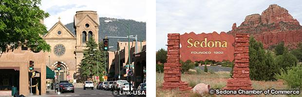 サンタフェとセドナを結ぶクリスタル街道