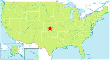 グレートサンドデューンズ国立公園 地図
