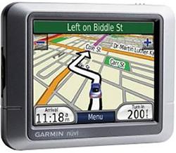 日本語対応GPSカーナビ