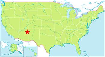 化石の森国立公園 地図