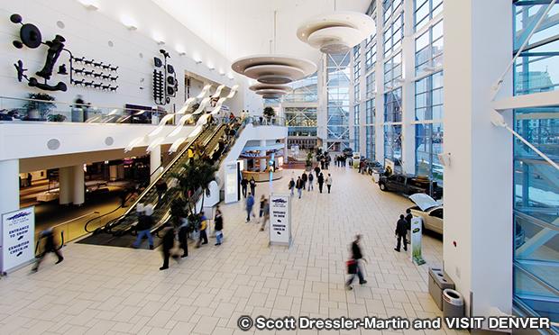 コロラド コンベンションセンター エントランス
