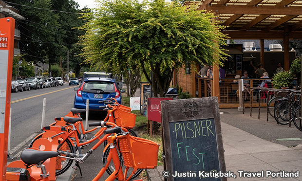 Biketown Bike-Share in Portland