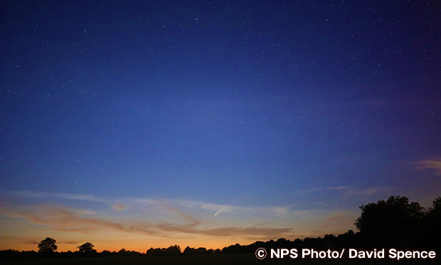 マンモス・ケーブ国立公園で天体観測