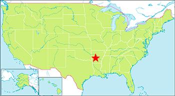 ホットスプリング国立公園 地図