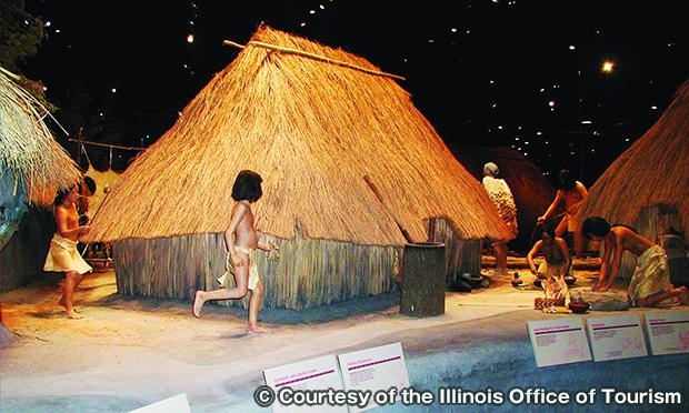 カホキアマウンズ州立史跡解釈センター The Cahokia Mounds State Historic Site Interpretive Center