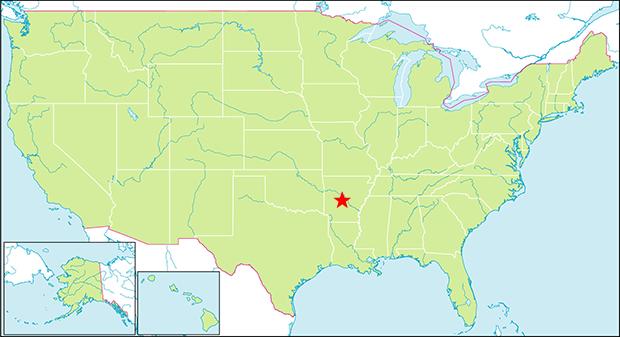 ホットスプリングス国立公園 行き方 場所