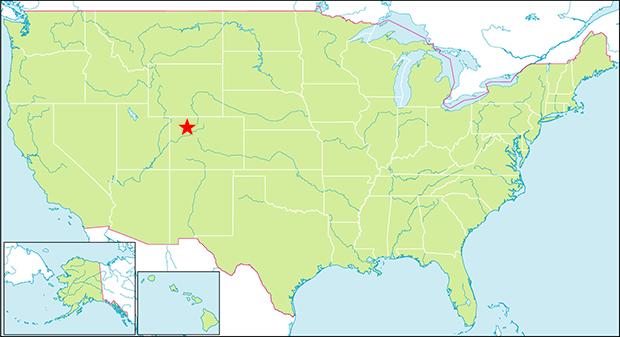 ロッキーマウンテン国立公園 行き方 場所
